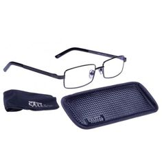 6789b2bc01 Crystal Vision Ash reading glasses by Foster Grant have innovative lens  technology by reducing glare
