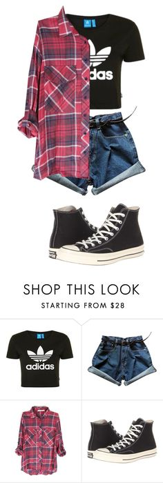 """""""Random"""" by hey-mate ❤ liked on Polyvore featuring Topshop and Converse"""