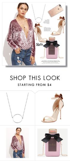 """""""Shein"""" by aminkicakloko ❤ liked on Polyvore featuring Sophia Webster and Casetify"""
