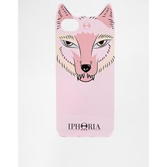 Iphoria Foxy Cover iPhone 5 Case ($16) ❤ liked on Polyvore featuring accessories, tech accessories and pink