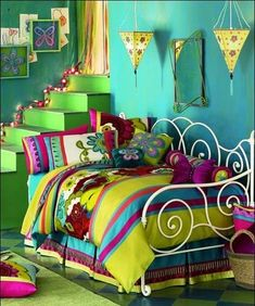 love the bright colors