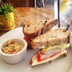 Cortona sandwich from Cafe Lucca #IHeartOnTheHunt #Sandwiches #RestaurantsInOTO #OldTowneOrange #IHeartOldTowneOrange #Foodie #ThePerfectStack