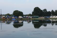 Atlanta Motor Speedway is one of few tracks offering lakeside camping