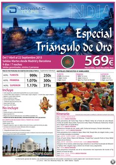 Especial Triángulo de Oro. Hasta 22 Septiembre 2015. 9 días. Desde Madrid y Barcelona. Desde 569 € ultimo minuto - http://zocotours.com/especial-triangulo-de-oro-hasta-22-septiembre-2015-9-dias-desde-madrid-y-barcelona-desde-569-e-ultimo-minuto/