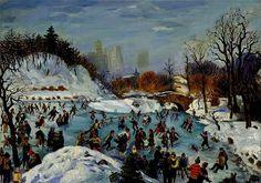 January 15th, 8:18 Saul Kovner - Skating in Central Park