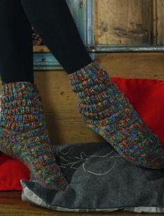 Stockholm Color Socken - Gratisanleitung: Socken aus Schachenmayr Regia Stockholm Color 8-fädig.