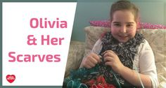 Olivia Anderson makes Boutique Sashay scarves to cope with her chronic illness, pulmonary hypertension.