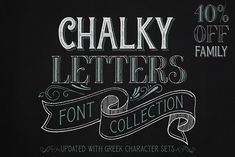 Chalky Letters is a multilayered font collection, created for the chalk-lettering lovers. Letters and ornaments are carefully hand-drawn to resemble the Chalk Fonts, Chalkboard Fonts, Chalk Lettering, Awesome Fonts, Cute Fonts, Poster Fonts, Print Fonts, Cursive Fonts, Handwriting Fonts