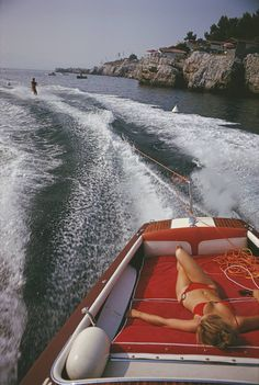 Leisure in Antibes | See more Color Photography at http://www.1stdibs.com/art/photography/color-photography on 1stdibs