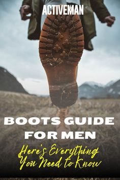 In case you're a little late to the party and you have just recently taken an interest in this classic, we have created a guide to help you figure this type of shoes out and give you an idea what boots you should get, where you should use them, and how to know if they are appropriate. Read on and embrace the boot life, my friend | boots guide for men | men boots fashion | men boots street styles | casual mens boots #bootsguideformen #menbootsoutfit