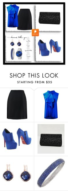 """Popmap #13"" by amra-sarajlic ❤ liked on Polyvore featuring PrimaDonna and Skagen"