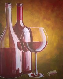 Wine Not is my newest painting. Prints are available exclusively at Crated.com