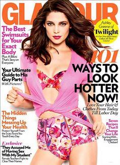 Ashley Greene – Glamour Magazine Cover