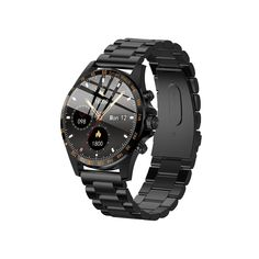 316 Stainless Steel, Display Screen, Heart Rate, 10 Days, Smart Watch, Watches, Black, Products, Smartwatch