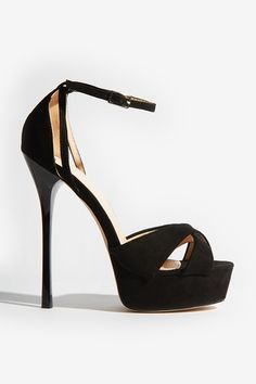 26cac0f93 Ted Baker Black Suede Barely There Block Heeled Sandals in 2019 ...