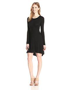 BCBGeneration Women's Long Sleeve Empire Flare Dress, Black, X-Small BCBGeneration http://www.amazon.com/dp/B00QNB72ZG/ref=cm_sw_r_pi_dp_UXjNvb0M3ACCS