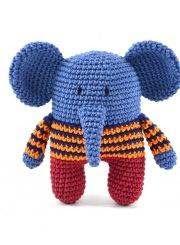 PATRON GRATIS ELEFANTES AMIGURUMI 13664 | Elefantes amigurumi ... | 245x180