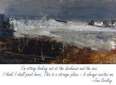 Your Paintings - Joan Kathleen Harding Eardley paintings january flow tide Abstract Geometric Art, Abstract Landscape, Landscape Paintings, Impressionist Landscape, Seascape Paintings, Gallery Of Modern Art, Popular Artists, Famous Artists, Glasgow School Of Art