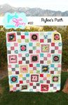 Quilt Story Rylee's Path - Downloadable Pattern [1PA-Download-QS-RP] - $9.00 : Pink Chalk Fabrics is your online source for modern quilting cottons and sewing patterns., Cloth, Pattern + Tool for Modern Sewists