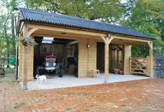 Our garages for sale include our carports range; timber carports and wooden garages for all manner of vehicles - not just cars! Timber Garage, Pole Barn Garage, Carport Garage, Carport Sheds, Pole Barns, Backyard Storage Sheds, Backyard Sheds, Backyard Landscaping, Backyard Barn