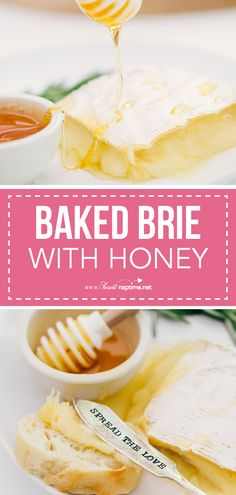a5849d551b18d1e25298e7192fbb57b6 - Baked brie with hone