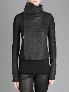 Rick Owens The man knows his way around leather jackets
