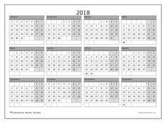 2018para imprimir, livre. Calendário anual : Albertus (Sf). A semana começa na segunda-feira