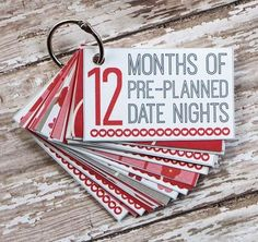 12 months of date nights printable. FREE printable for creating your own mini-book gift with 12 months of pre-planned date nights perfect for Valentine's Day this year! Valentines Diy For Him, Handmade Valentine Gifts, Fun Valentines Day Ideas, Valentine Day Crafts, Gifts For Boyfriend Long Distance, Boyfriend Gifts, Romantic Gifts For Boyfriend, Date Nights, Saint Valentin Diy
