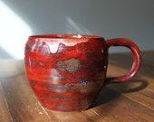 wheel-thrown mug