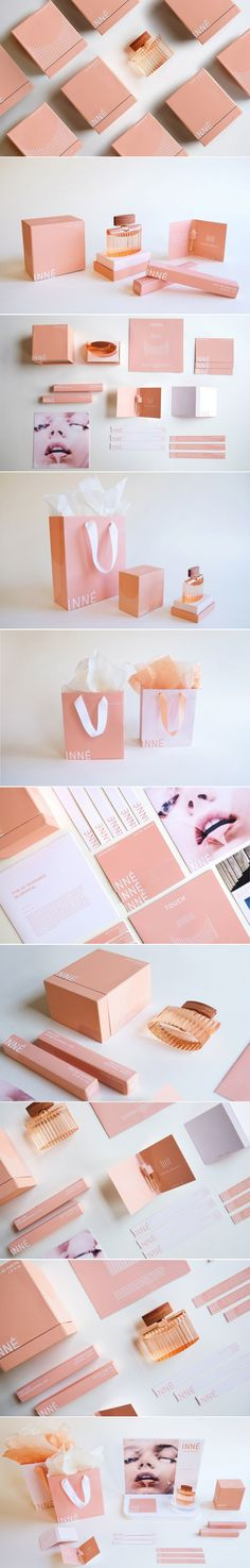 INNÉ is a Beautiful Feminine Fragrance Concept That Plays With Texture — The Dieline   Packaging & Branding Design & Innovation News
