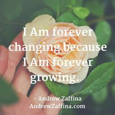 "Affirmation of the day // Checkout: AndrewZaffina.com to receive ""Restore Your Energy"" A quick course on pulling back what's yours."