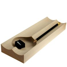 Scanwood & Knud Holscher's Maple Wood Desk Accessories