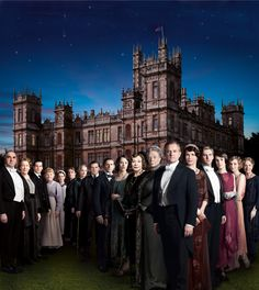 Downton Abbey Season 3 poster.  I guess it is a good sign Mr. Bates is not in an orange jumpsuit.  :-)  US premiere date of January 6, 2013!  Hurry please!