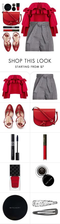 """#1138 Anne"" by blueberrylexie on Polyvore featuring Erika Cavallini Semi-Couture, Zimmermann, Gucci, KC Jagger, Christian Dior, NARS Cosmetics, Bobbi Brown Cosmetics, Witchery, Monki and Roberto Coin"