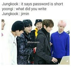 Omg this fits perfectly right down to Jimin's unimpressed expression!