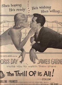 The Thrill of it All (Doris Day and James Garner) (1963) ....one of my favorite Doris Movies!