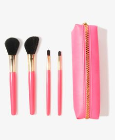 Cosmetic Brush Set & Bag from Forever 21 !