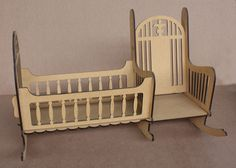 Rocking Cot + Chair