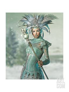 Snow Queen Art Print by Atelier Sommerland