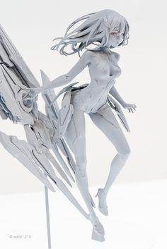 白模速写练习用🥰 3d Model Character, Cyberpunk Character, Cyberpunk Art, 3d Pose, Anatomy Sculpture, Frame Arms Girl, Anime Henti, Woman Sketch, Modelos 3d