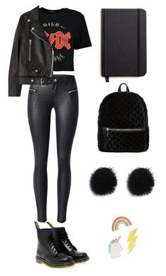"""""""Janette Melgard"""" by juliesunicorn on Polyvore featuring мода, Boohoo, Dr. Martens, Acne Studios, Shinola и Red Camel"""