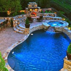 I guess I can settle for this backyard...