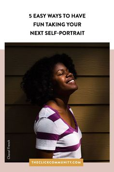 Taking self-portraits can and should be a fun (and sometimes funny) experience. Here are 5 tips to help you have a successful self-portrait session. Photo Tips, Pose, Self, Portraits, Funny, Pictures, Photos, Head Shots, Photography Tips