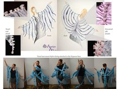 Stevie Nicks Shawl by Textile Artist Erin Bassett