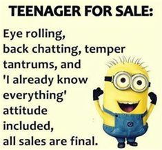 Teenager's..plural, that is!!