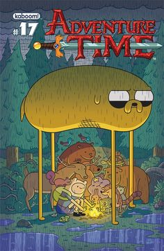 Finn And Jake Do Some Unadvisable Chewing In 'Adventure Time' #17 [Preview] - ComicsAlliance | Comic book culture, news, humor, commentary, and reviews