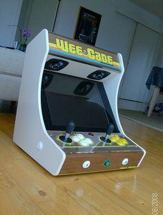 DIY: Homemade Arcade