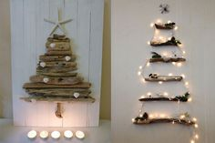 Candle Sconces, Ladder Decor, Advent Calendar, Wall Lights, Christmas Tree, Candles, Holiday Decor, Home Decor, Google