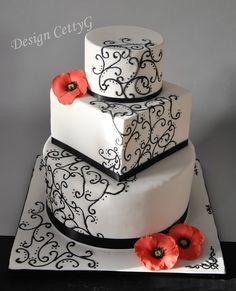 Le torte decorate di CettyG...: 18° Compleanno....red velvet