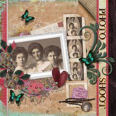 I used Memories Of Old Kit by Elizabeth's Market Cross.